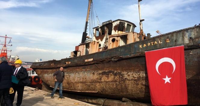 Aranan o gemi bulundu