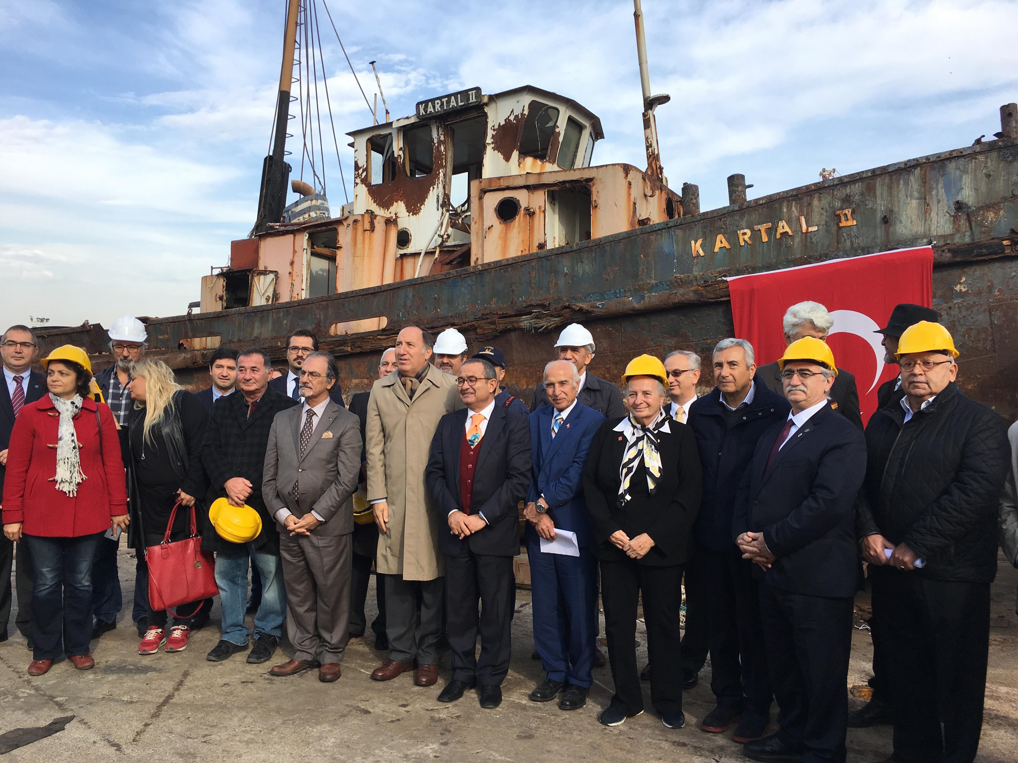 Atatürk'ün 'geldikleri gibi giderler' sözünü söylediği o gemi bulundu