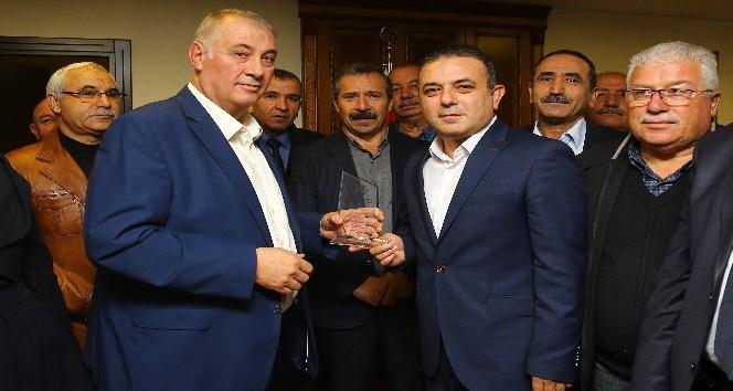 Sincanlı muhtarlardan, Sincan Belediye Başkanı Ercan'a ziyaret