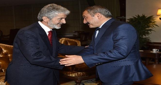 Başkan Tuna'ya, Emniyet Müdürü Yılmaz'dan ziyaret