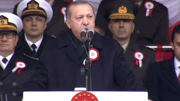 Erdoğan: Eski sisteme dönmesi söz konusu değildir