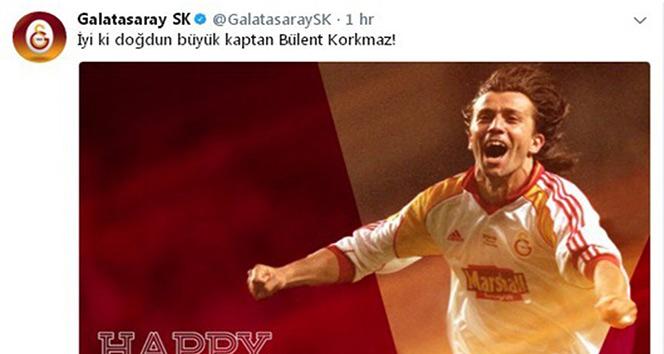 Galatasaray, Bülent Korkmaz'ı unutmadı