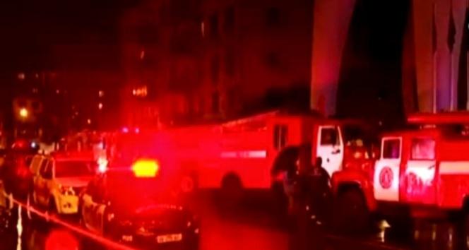 Batum'da otel yangını, çok sayıda ölü var