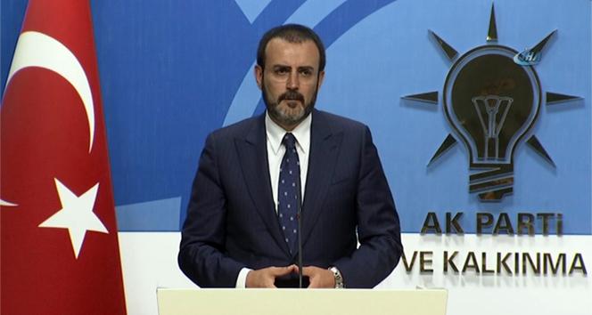 Mahir Ünal: Türkiye'nin rehin alınmasına izin vermeyeceğiz