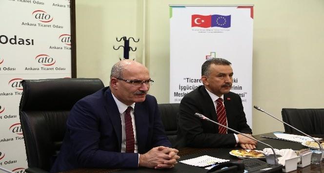 """ATO Başkanı Baran: """"Doğru iş ile doğru elemanı bir araya getirirsek işsizlik oranı düşer"""""""