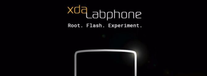 XDA Labphone telefon geliyor!