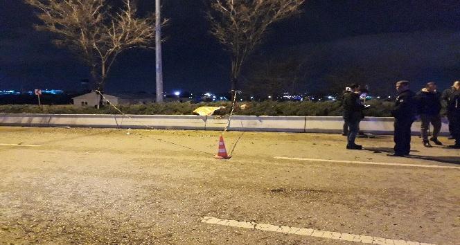 Ankara'da feci kaza 1 ölü