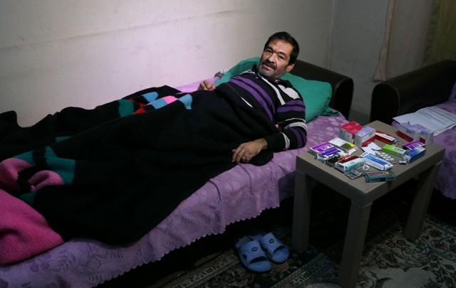 KOAH, lösemi ve akciğer hastası adamın yardım çığlığı