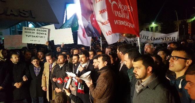 Ankara'da ABD Büyükelçiliği önünde eylem