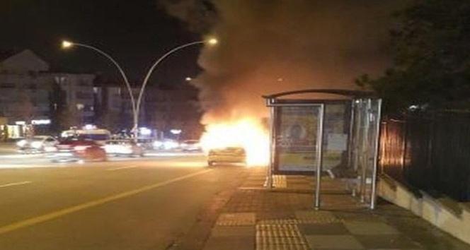 Ankara'da trafikde dehşet yaşandı