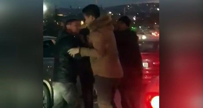 Ankara'da trafikte kavga