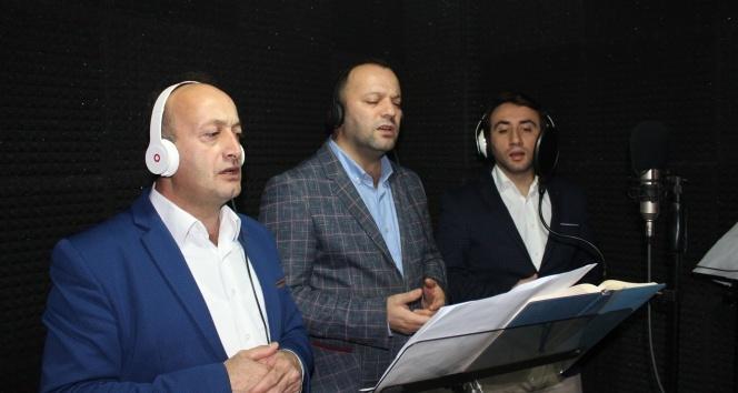 Kudüs için stüdyoya girdiler