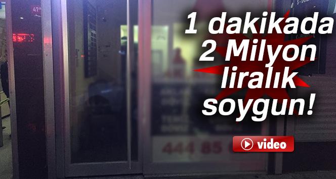 Fatih'te 1 dakikada 2 Milyon liralık soygun