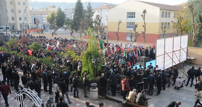Cizre'de Kudüs mitingi