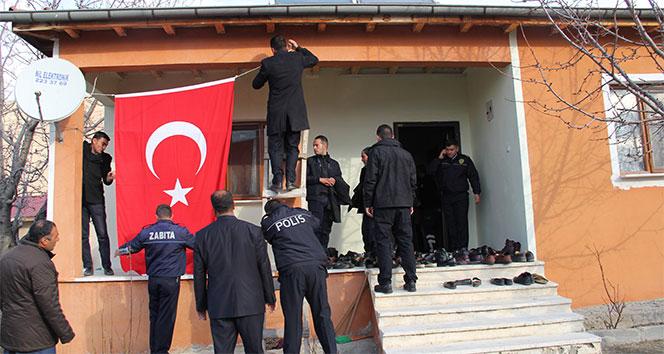 Ankara'daki şehit ateşi Erzincan'a düştü