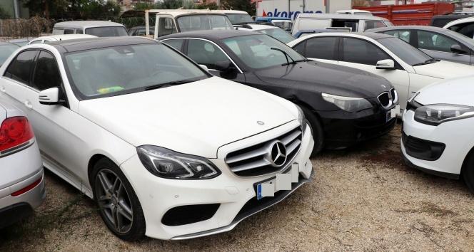 20 milyon lira değerindeki araçlar çürümeye terk edildi