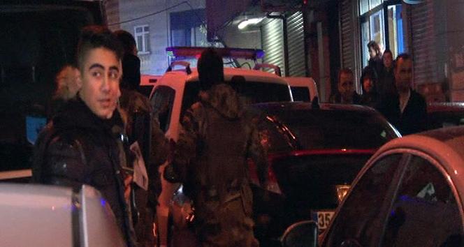 Kağıthane'de polisle hırsız arasında çatışma çıktı