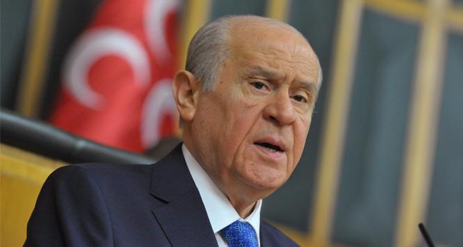 Bahçeli: 'MHP, Cumhurbaşkanı adayı göstermeyecek'