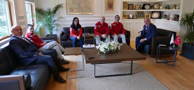 AKUT'tan Kızılay'a işbirliği ziyareti