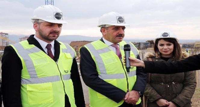 Başkan Duruay Devlet Hastanesinin temelini attı