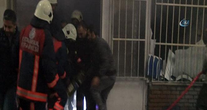 Başakşehir Ayakkabıcılar Sitesi'nde yangın çıktı