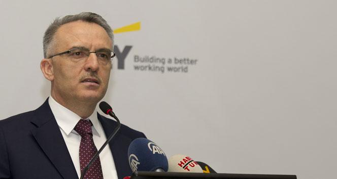 Bakan Ağbal: '2017 yılının bütçe açığını açıkladı