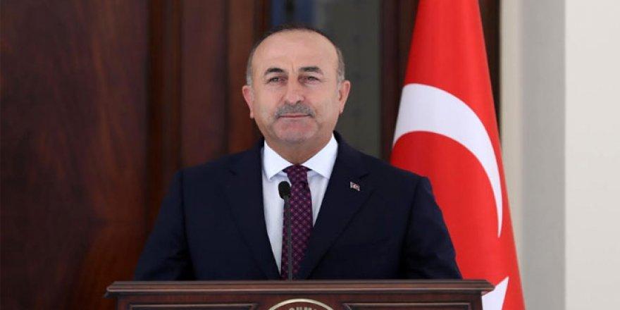 Çavuşoğlu'ndan ABD'ye YPG tepkisi!