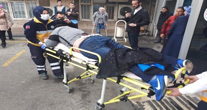 Ankara Adliyesi önünde döner bıçaklı saldırı