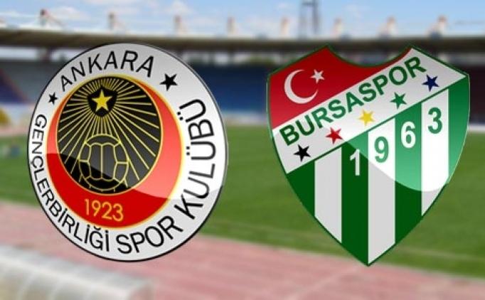 Bursaspor Gençlerbirliği şifresiz canlı izle