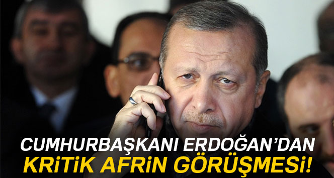 Erdoğan, NATO Sekreteri'yle görüştü