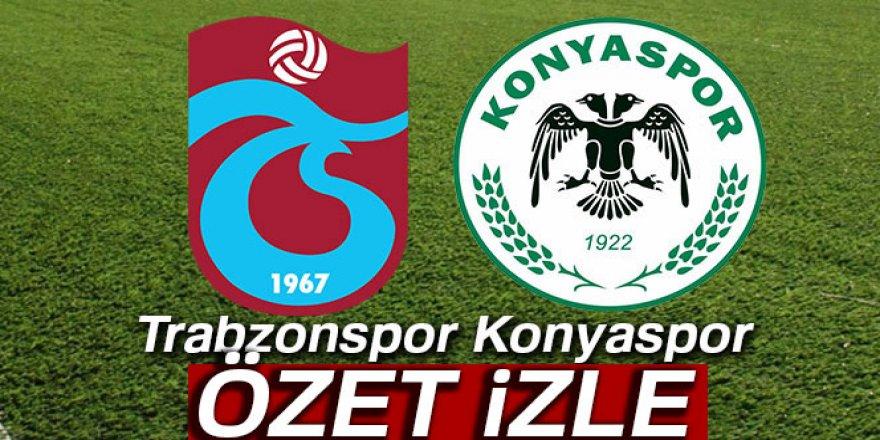 Trabzonspor Konyaspor kaç kaç bitti?
