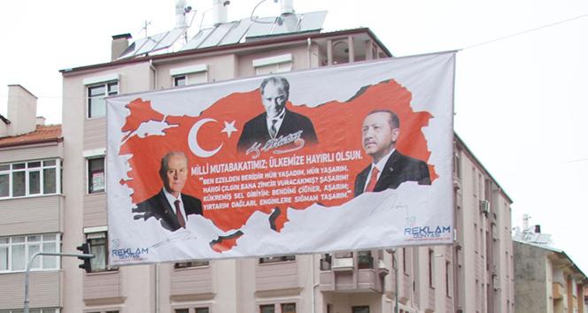 İşte 'Milli Mutabakat'ın ilk afişi