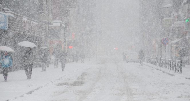 5 il için yoğun kar ve yağmur uyarısı