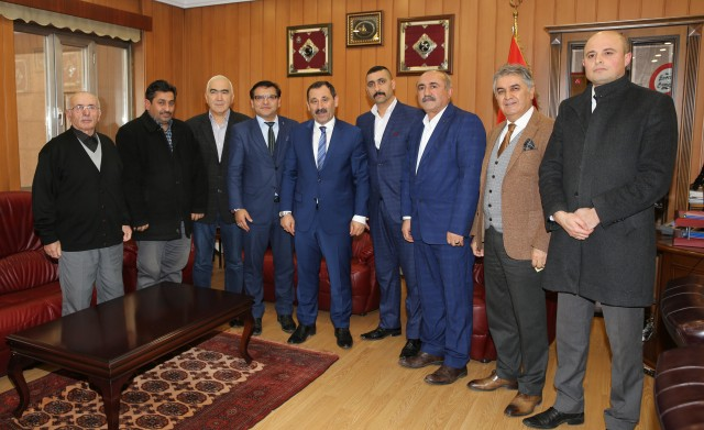 Yozgatlılardan Başkan Demirel'e ziyaret