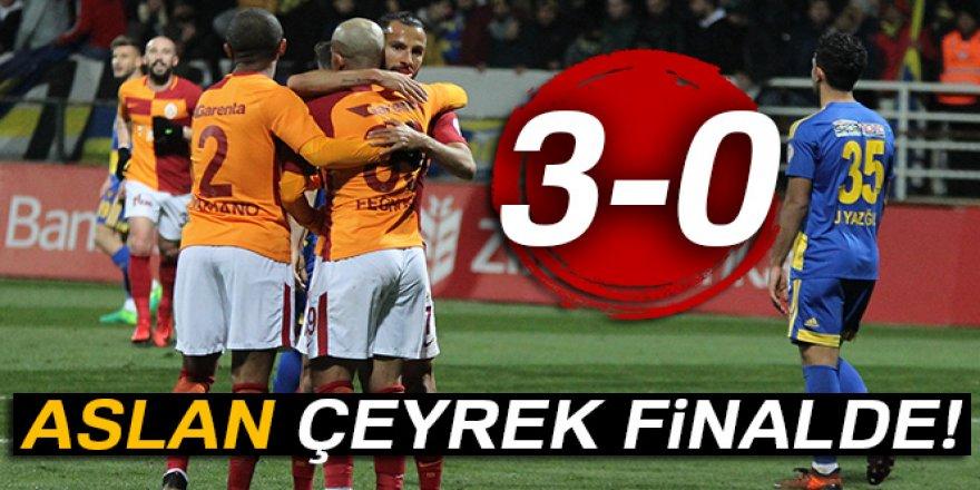 Galatasaray maçı kaç kaç bitti?