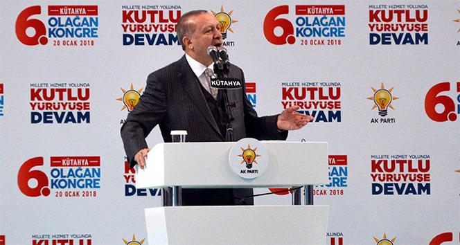 Erdoğan: 'Afrin operasyonu sahada fiilen başlamıştır'