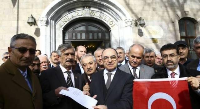 Ankaralı muhtarlar, gönüllü askerlik için valiliğe dilekçe verdi
