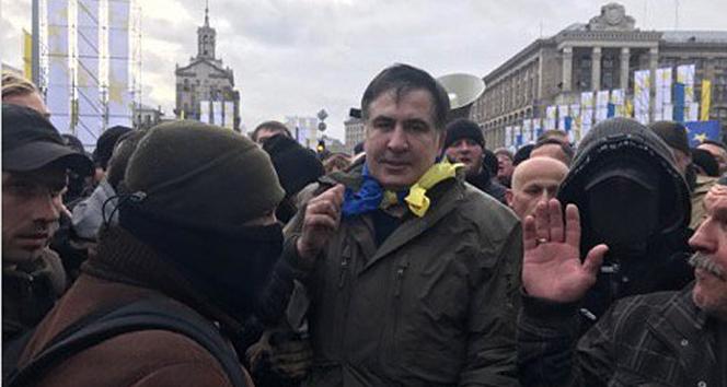 Eski Gürcü lider Saakaşvili kaçırıldı