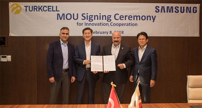Turkcell ve Samsung'tan 5G için işbirliği