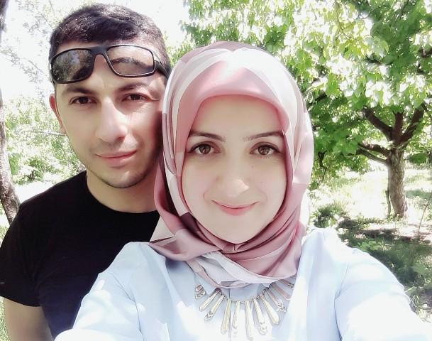 El Bab'ta görevde olan asker eşinin Sevgililer Günü'nü kutladı