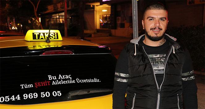 Taksiciden, otobüs şoförüne anlamlı tepki