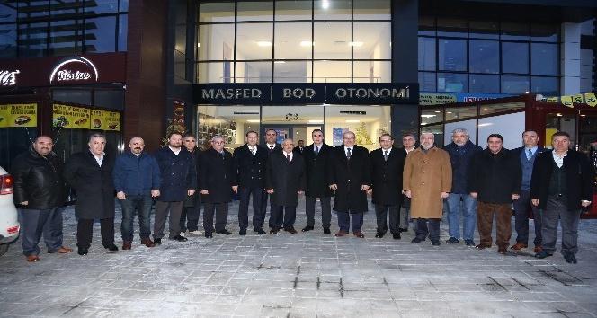 ATO Başkanı Baran'dan Otonomi'yi ziyaret