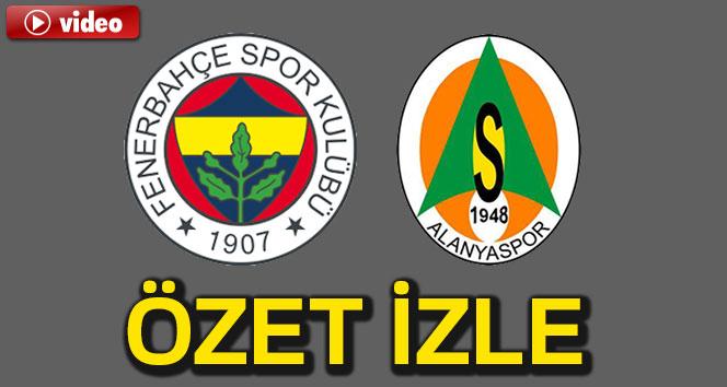 Fenerbahçe 3-0 Alanyaspor
