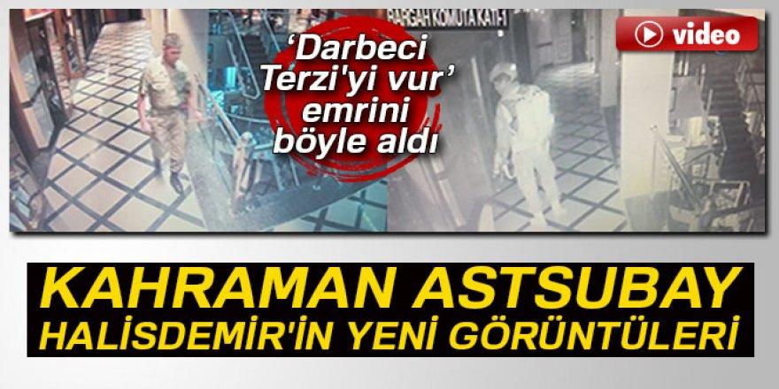Kahraman Astsubay Halisdemir'in Aksakallı'dan vur emrini aldığı an