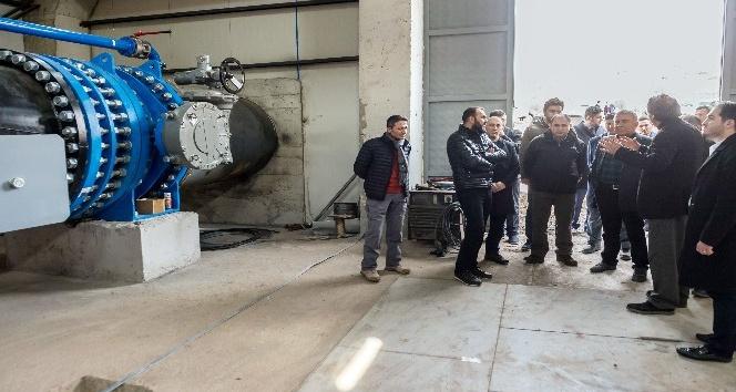 ASKİ Genel Müdürü Kınacı barajları inceledi