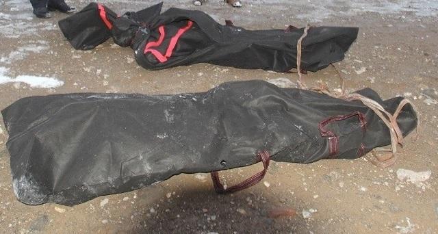 Sınırda donarak öldüler