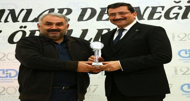 Yılın başarılı belediye ödülü verildi