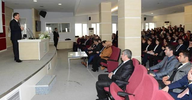 Vali Ercan Topca'dan hakim ve savcı adaylarına ziyaret