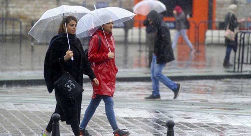 Dikkat! Meteoroloji'den çok kuvvetli yağış uyarısı yapıldı