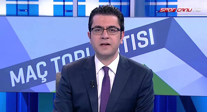 Galatasaray-Konyaspor maçında spiker Emre Gönlüşen'e saldırı
